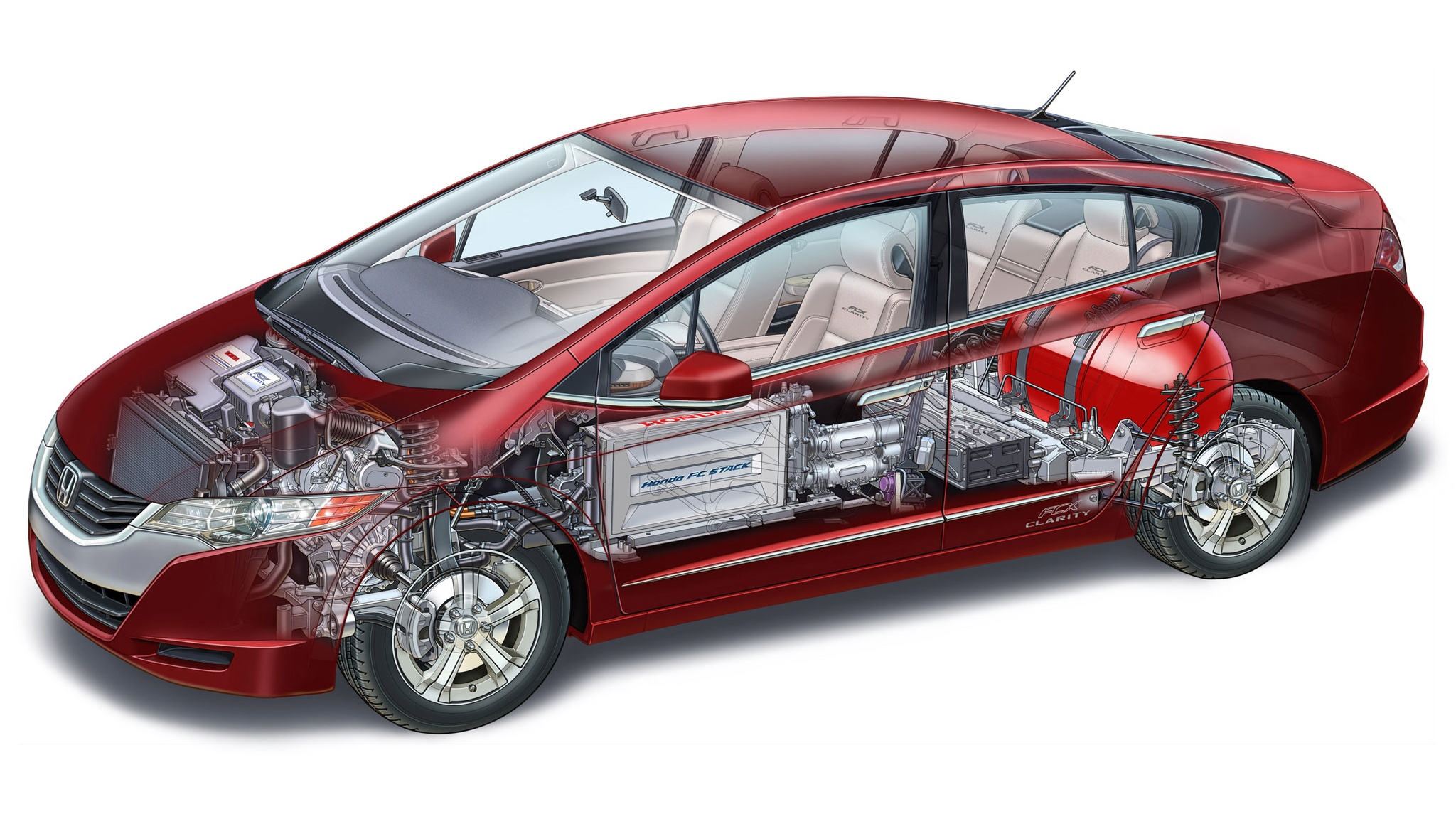 2011 Honda FCX Clarity