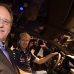 Infiniti President and F1 Champion Sebastian Vettel