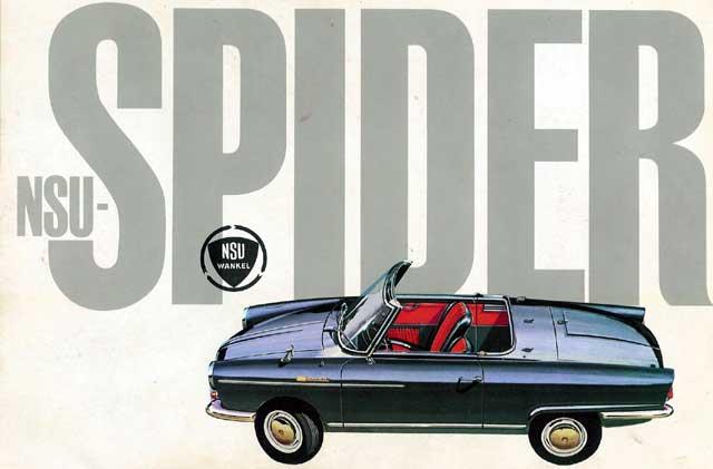nsu spider anuncio