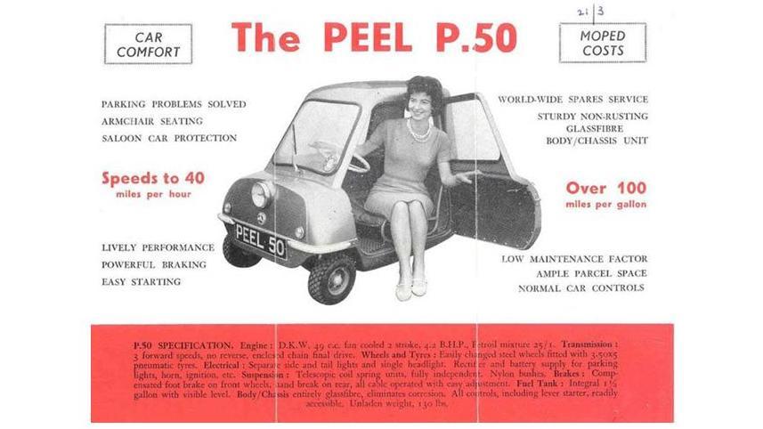 peel p50 anuncio