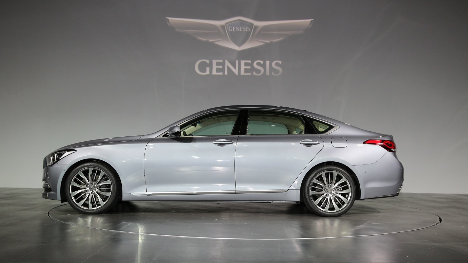 all-new Genesis at the launch event 2