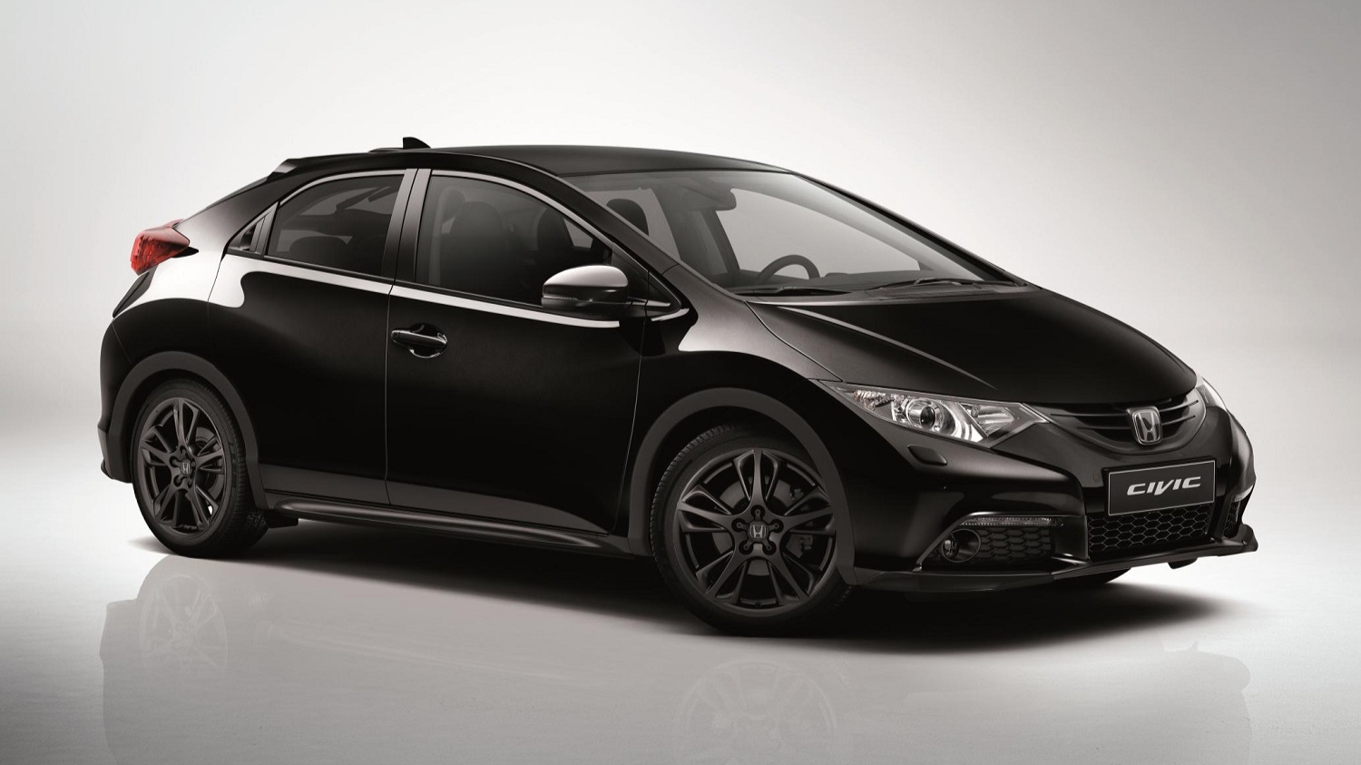 Honda_Civic_Black_Edition Front